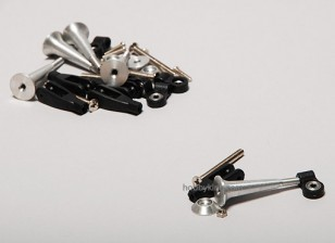 Extra fort contrôle Horns w / Roulement 34mm (5pcs)