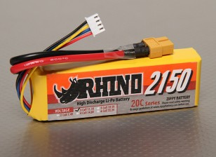 Rhino 2150mAh 3S1P 20C Lipoly Paquet
