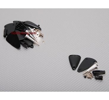 Alliage réglable Corne W Base / Roulement 2.8x34mm (5sets)
