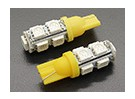 LED Corn Lumière 12V 1.8W (9 LED) - Jaune (2pc)