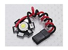 Super Bright 3Watt blanc Lampe LED avec Aluminium Dissipateur