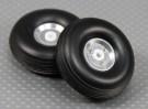 50 mm (2 pouces) Assemblée roue Echelle alliage léger (2pc)