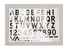 Lettres / Symboles Noir-Argent Luftwaffe style (Med) Style 2