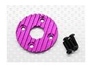 Aluminium CNC Motor Heatsink Plate 36mm (Violet)
