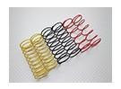 Amortisseurs avant Ressorts noir / jaune / rouge (2pcs chaque couleur) - A2038 & A3015