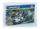 Kit Italeri 1/35 Échelle Commando voiture en plastique modèle