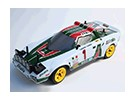 Rally Legends 1/10 Lancia Stratos Unpainted Shell Car Body w / Stickers