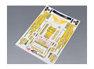 Auto-adhésif Decal Sheet - Toyota Drift 1/10 Échelle