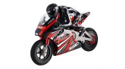 1/8 HKM390 On-Road Racing Motorcycle (Brushed) RTR - left front