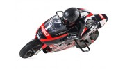 1/8 HKM390 On-Road Racing Motorcycle (Brushed) RTR - turning