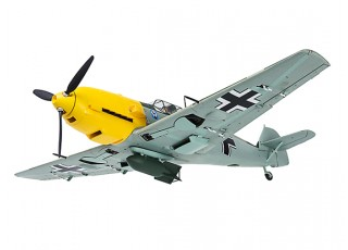 "Durafly™ Messerschmitt Bf.109E-4 Battle of Britain Scheme 1100mm (43.3"") (PnF) - underneath"