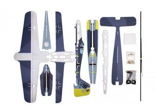 H-King Fw 190 - Glue-N-Go - 5mm Foamboard PP 975mm (Kit) - kit