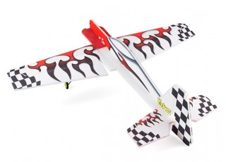 H-King Yak54 - Glue-N-Go - EPP 800mm (Kit) - rear view