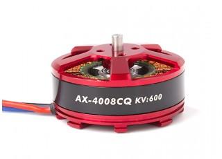 AX-4008CQ-600KV Brushless Outrunner Motor 4~5S (CCW)