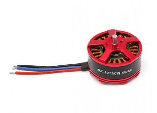 ACK-4012CQ-650KV Brushless Outrunner Motor 4~6S (CW) - full view