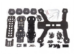 Diatone Tyrant 215 FPV Racing Drone - Black (Frame Kit) - parts