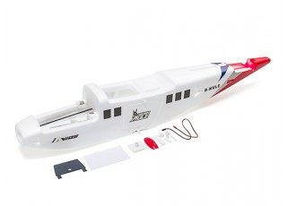 Avios BushMule - Fuselage Set w/Stickers and LEDs (Red/Blue)