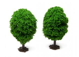 HobbyKing™ 90mm Scenic Model Trees with Base (2 pcs)