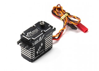 JX CLS-12V7337 High Voltage High Speed Coreless Metal Gear Servo 37.5kg/0.08sec/73g with lead