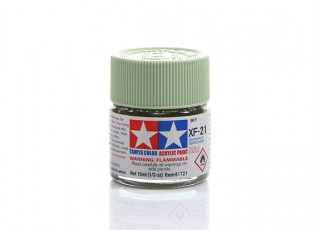 Tamiya XF-21 Flat Sky Mini Acrylic Paint (10ml)