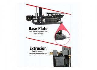 ronxy X-1 Desktop 3D Printer Kit (EU Plug) 5