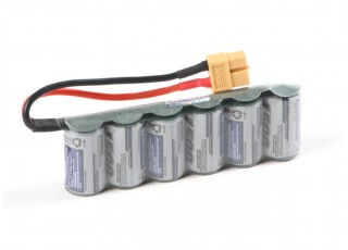 Turnigy Receiver Pack 2/3A 1500mAh 7.2V NiMH High Power Series
