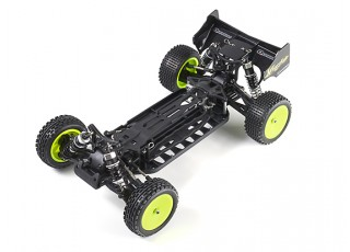 Quanum Vandal 1/10 4WD Electric Racing Buggy (KIT) - left uncovered