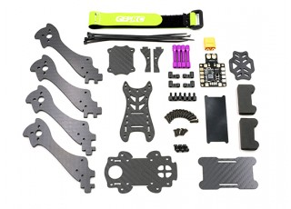 GEP - Mark1 210mm FPV Racing Drone Frame Kit - Components