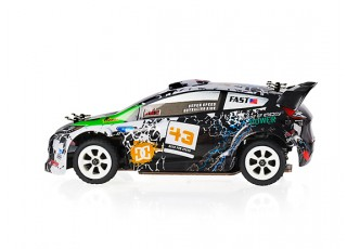 WL Toys K989 1:28 Scale Rally Car (RTR) side view
