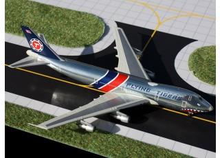 Gemini Jets Flying Tigers (Shark Mouth) Boeing 747-100F N800FT 1:400 Diecast Model GJFTL1207