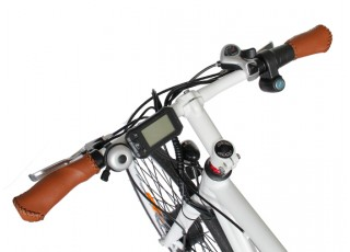 Electric Road Bike Handlebars Display
