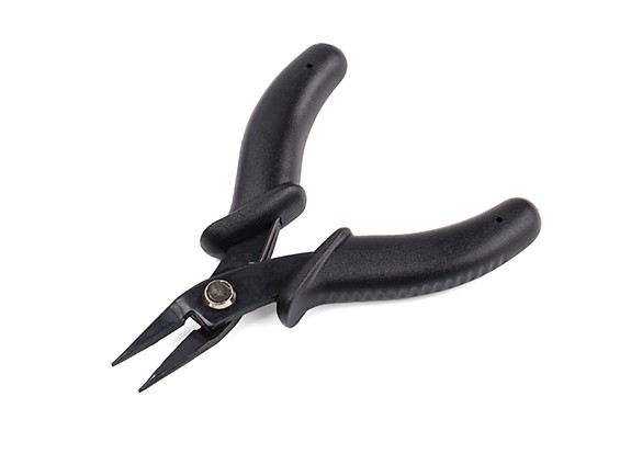 Mini Needle Nose Pliers 90mm w/Plastic Molded Handles