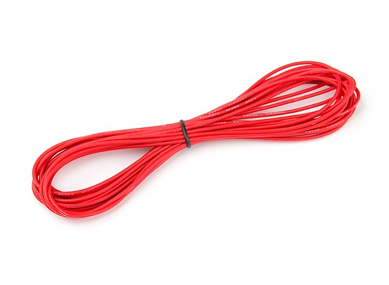 Turnigy High Quality 20AWG Silicone Wire 6m (Red)