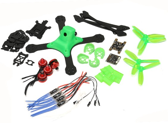 RJX XBR 220 FPV Drone Racing RC Quadcopter Kit (Unassembled)
