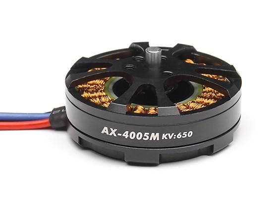 AX-4005M-650KV Brushless Outrunner Motor 4~8S (CW)