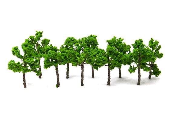 HobbyKing™ 35mm Scenic Wire Model Trees  (10 pcs)