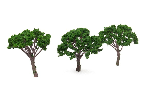 HobbyKing™ 120mm Scenic Wire Model Trees (3 pcs)
