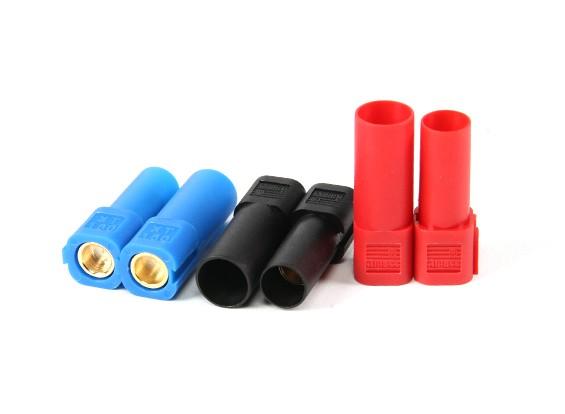 XT150 Stecker w / 6mm Gold-Steckverbinder - Rot, Blau und Schwarz (5pairs / bag)