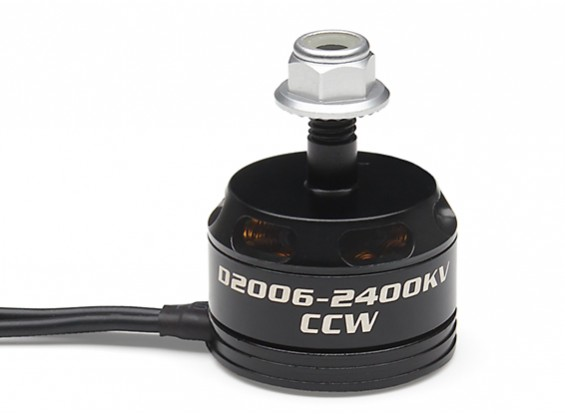 Turnigy D2006-2400KV Brushless Motor (CCW)