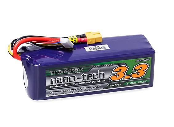 Turnigy nano-tech 3300mAh 6S 35~70C Lipo Pack w/XT-60