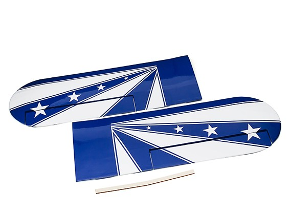Kingcraft Pitts Special S-2B 1200mm Replacement L/R Lower Wing Set