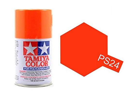 tamiya-paint-fluorescent-orange-ps-24