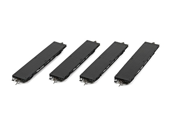 NX17K Flat Car (HO Scale - 4 Pack) Set 3