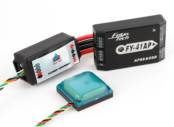 FY-41AP Auto-Pilot / Flight-Controller mit OSD, GPS und Power Manager