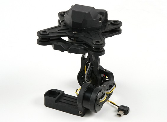 SCRATCH/DENT - HMG MA3D 3 Axis Brushless Gimbal for Mobius Camera