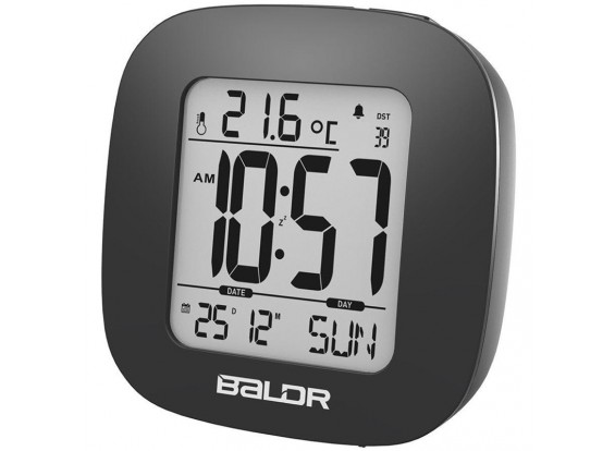 BALDR B0126ST Mini Smart Alarm Clock  with Snooze Temperature Back-light Display