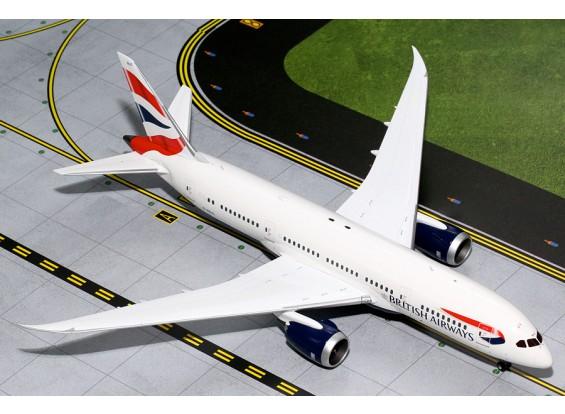 Gemini Jets British Airways Boeing B787-8 Dreamliner G-ZBJC 1:200 Diecast Model G2BAW542
