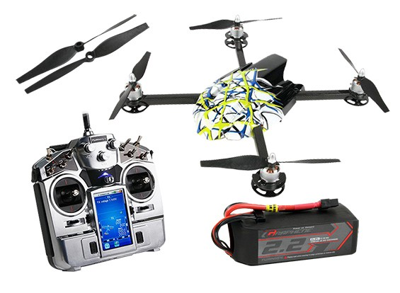 Quanum Quad Ready To Fly with Turnigy TGY-i1 Radio Graphene 2200mAh Set--Day 4