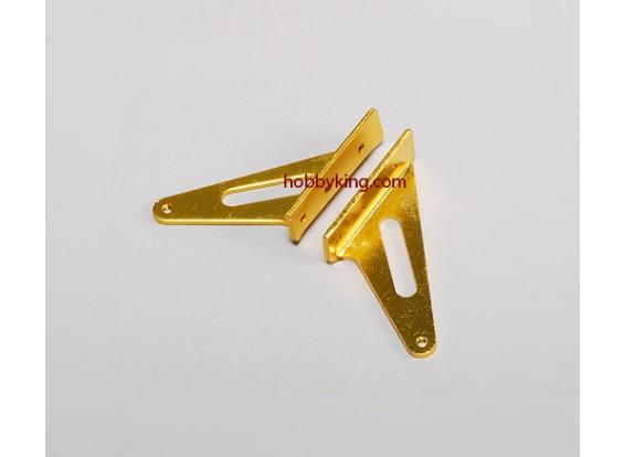 Alloy Horn L31x H30mm (1 Paar)