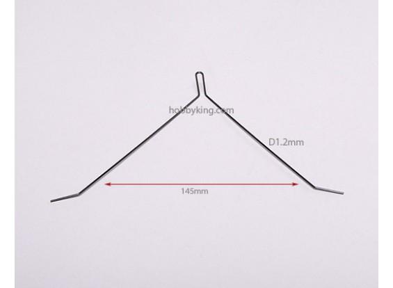 Licht-Draht-Landing Strut D1.2x145mm